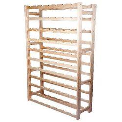 Biowin Regał drewniany na 77 butelek rb77j + zamów z dostawą jutro! (5904816914931)
