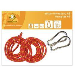 Zestaw montażowy H2_2 do hamaków, Czerwony koala/zh2_2