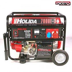 Agregat prądotwórczy, generator WM Holida 7000-3 trójfazowy 7 kW - rozrusznik elektryczny, 414