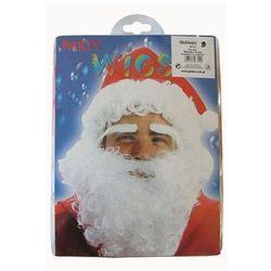 Peruka Mikołaj z brodą w czapce, kup u jednego z partnerów