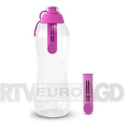 butelka filtrująca 0,7l z 2 filtrami (flamingowy) marki Dafi