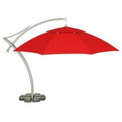Home&garden Parasol ogrodowy ibiza 420 cm czerwony