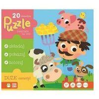 Puzzle 20 Zwierzęta na wsi - SZYBKA WYSYŁKA (od 49 zł gratis!) / ODBIÓR: ŁOMIANKI k. Warszawy