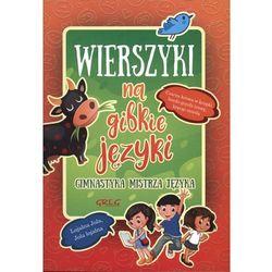 Wierszyki na gibkie języki BR GREG, książka z kategorii Poezja