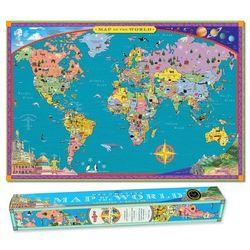 Mapa ścienna - World Map, produkt marki eeboo
