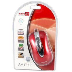 ActiveJet Mysz optyczna AMY-003 USB-POZŁACANE STYKI - produkt z kategorii- Myszy, trackballe i wskaźniki