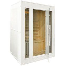 Sauna fińska z piecem e3 biała 416693 marki Home&garden
