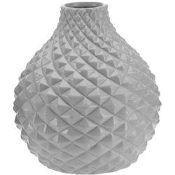 Ceramiczny wazon na kwiaty, dekoracje - okrągły Ø 21 cm