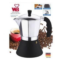 Wellberg Kawiarka espresso  450ml (9 filiżanek) wb-6802