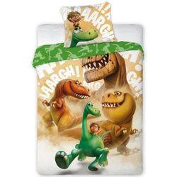 Dekoria komplet pościeli good dinosaur, poszwa 160 × 200 cm, poszewka 70 × 80 cm