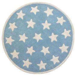 KIDS CONCEPT Dywan Star kolor jasnoniebieski z kategorii dywany dla dzieci