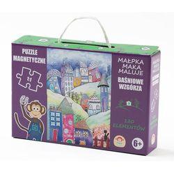 Maka kids Puzzle magnetyczne baśniowe wzgórze