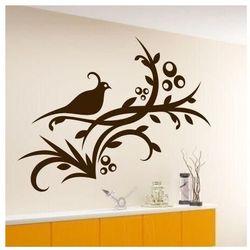 Szablon malarski ptak kwiaty 1223 marki Wally - piękno dekoracji