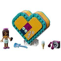Lego polska Lego klocki friends pudełko w kształcie serca andrei gxp-671412 - darmowa dostawa od 199 zł!!! (5702016368727)