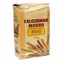 Natural Przecena mąka żytnia pełnoziarnista drobno mielona 1 kg