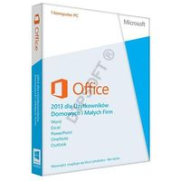 Microsoft  office home and business 2013 pl