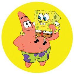 Dekoracyjny opłatek tortowy Spongebob - 20 cm - 4