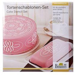 Szablony do dekoracji tortów pattern 2 szt. cake couture marki Birkmann