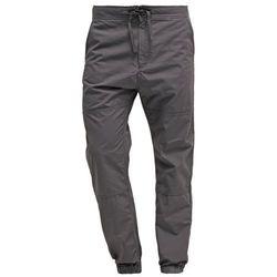 Carhartt WIP MARSHALL COLUMBIA Spodnie materiałowe blacksmith rinsed, kolor szary, od rozmiaru XS