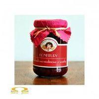 Konfitura truskawkowo-malinowa z wanilią towary niezwykłe 200g, marki Wytwórnia towarów niezwykłych