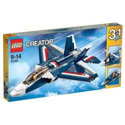 Creator Błekitny odrzutowiec 31039 marki Lego - klocki dla dzieci