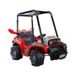 Samochód electric buggy czerwony wyprodukowany przez Arti