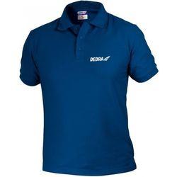 Koszulka polo DEDRA BH5PG-XXL Granatowy (rozmiar XXL)
