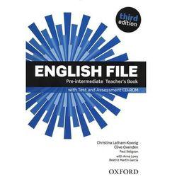 English File Third Edition Pre-Intermediate Książka Nauczyciela, książka z kategorii Nauka języka