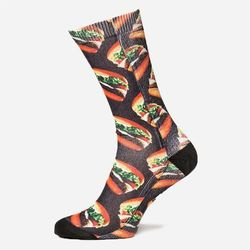 VANS SKARPETY LATE NIGHT CREW AUTHENTIC BURGER L