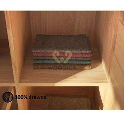 Woodica Półka do szafy dębowej modern mała 50cm