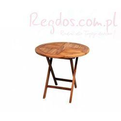 Stół ogrodowy z drewna tekowego