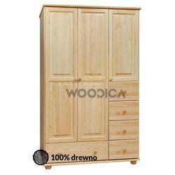 Woodica 09.szafa 3d5s 118x190x60