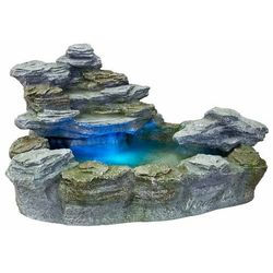 Stilista ® Kaskada fontanna ogrodowa olymp 5 kolorów światła (30050020)