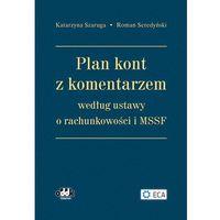 Plan kont z komentarzem według ustawy o rachunkowości i MSSF.