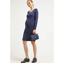MAMALICIOUS MLELA Sukienka z dżerseju black iris, towar z kategorii: Sukienki ciążowe
