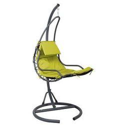 Fotel bujany / wiszący adriene limonka marki Patio