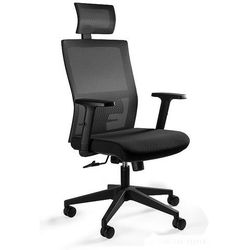 Fotel biurowy ergonomiczny MASK czarny