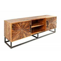 Sofa.pl Invicta szafka pod telewizor wood art - 145 cm mango, drewno naturalne, metal