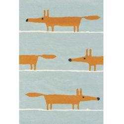 Dywan dziecięcy MR FOX rudy lis