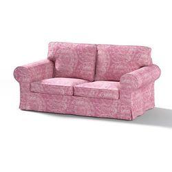 Dekoria Pokrowiec na sofę Ektorp 2-osobową, nierozkładaną, ciemny pudrowy róż, Sofa Ektorp 2-osobowa, Mirella