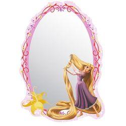 Lustro samoprzylepne dla dzieci Rapunzel Księżniczka Roszpunka, 15 x 21,5 cm, 680636