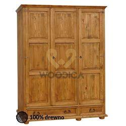 Szafa hacienda 06 [3d+2s] 133x193x61 marki Woodica