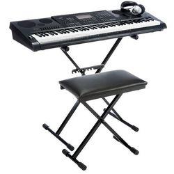 CASIO WK-7600 ZESTAW (keyboard, syntezator)