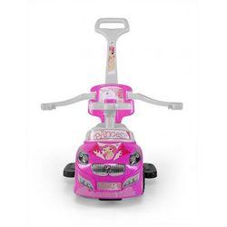 Milly Mally jeździk dziecięcy HAPPY pchacz samochód pink
