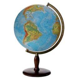 Globus 420 fizyczny podświetlany (drewniana niska stopka, cięciwa aluminiowa) (5906727909013)