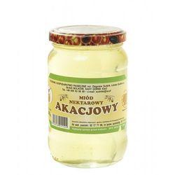 Miód akacjowy nektarowy 540g Rodzinna Pasieka Sudnik