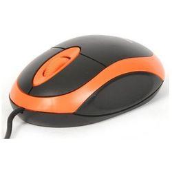 Mysz OMEGA OM-06V (41645) Czarno-pomarańczowy