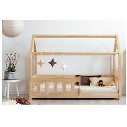 Drewniane łóżko dziecięce domek - Rikko, Adeko_MBP
