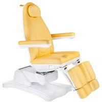 Elektryczny fotel kosmetyczny Mazaro BR-6672A Miodowy
