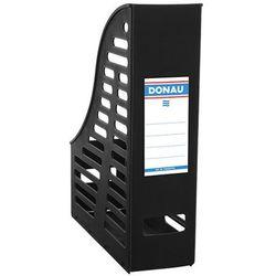 Pojemnik ażurowy na dokumenty DONAU, PP, A4, składany, czarny